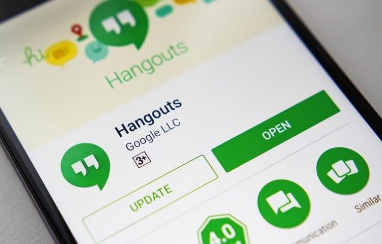 installation of google hangouts