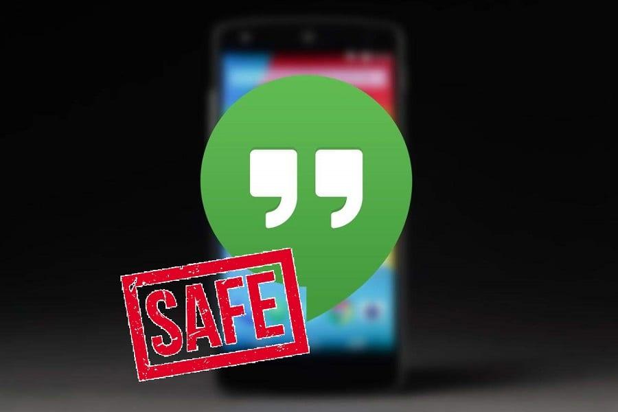 How safe is Google Hangouts