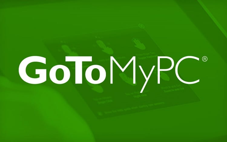 Gotomypc remote desktop software