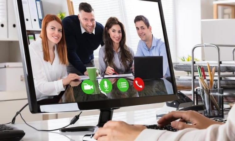 Skype online meeting