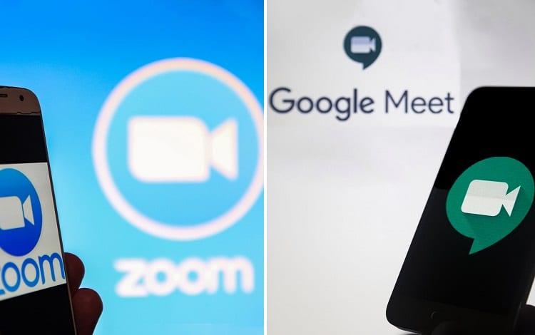 zoom vs google meet comparison
